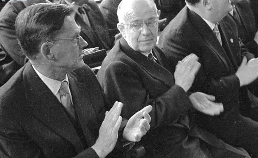 L'économiste socialiste Oskar Lange