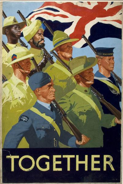 Affiche de propagande de l'Empire Britannique